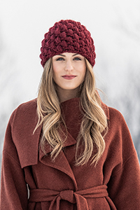 Blue Sky Fibers Traveler's Series Patterns - Berry Hat - PDF DOWNLOAD Pattern