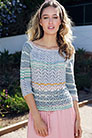 Adriafil Pattern Collection - #3350 Pullover - PDF DOWNLOAD