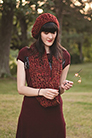 Malabrigo Book 12: Elements Patterns - Brasa Hat & Scarf - PDF DOWNLOAD