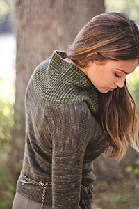 Malabrigo Book 12: Elements Patterns - Follaje Pullover - PDF DOWNLOAD Pattern