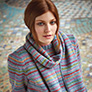 Rowan Kaffe Fassett's Winter Vintage - PDF Patterns - Colours in the Mist Scarf - PDF DOWNLOAD