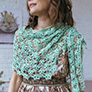 Kelbourne Woolens KW Crochet Collection Patterns - Succulent Shawl - PDF DOWNLOAD