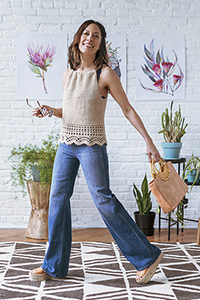 Kelbourne Woolens Patterns - KW Crochet Collection Patterns - Canyon - PDF DOWNLOAD photo