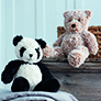 Sirdar Alpine Patterns - Panda and Teddy Bear - PDF DOWNLOAD