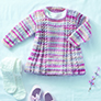 Sirdar Snuggly Baby Crofter DK Patterns - 5295 Tunic - PDF DOWNLOAD