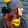 Tian Connaughton Designs Patterns - Roslindale Hat and Cowl - PDF DOWNLOAD