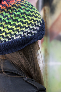 Universal Yarns Patterns - Classic Shades Patterns - Step Up Hat - PDF DOWNLOAD photo