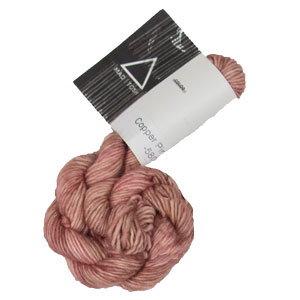 Madelinetosh Unicorn Tails Yarn - Copper Pink (Solid)