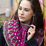 Universal Yarns Classic Shades Frenzy Patterns - Boudreaux Cowl - PDF DOWNLOAD