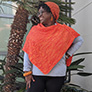 Jimmy Beans Wool PDF Patterns - Orange Love Poncho - PDF DOWNLOAD