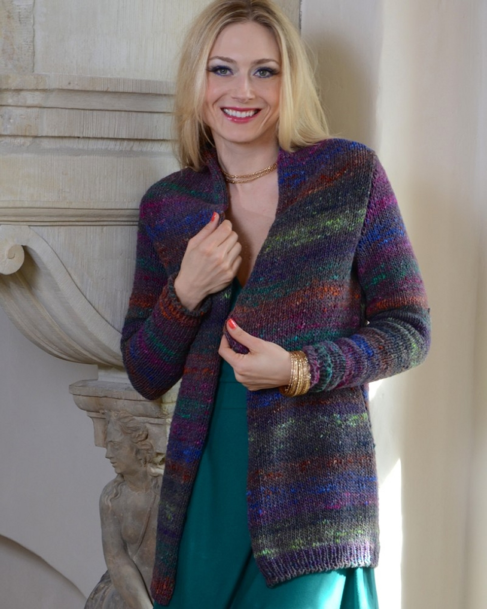 noro shinroyoku shae blazer kit - women's cardigans kits at jimmy