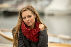 Swans Island All American Worsted Acadia Cowl Kit - Scarf and Shawls