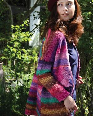 Noro Silk Garden Y1016 V Jacket Kit - Women's Cardigans