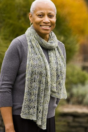 Schaefer Yarn Andrea Reversible Lace Scarf Kit - Scarf and Shawls