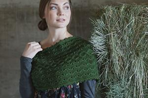 Madelinetosh Tosh DK Winter Thyme Cowl Kit - Scarf and Shawls