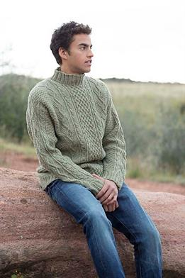 Swans Island All American Worsted Salt River Sweater Kit - Mens Sweaters