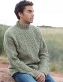 Swans Island All American Worsted Salt River Sweater Kit