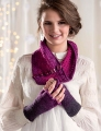 Freia Fine Handpaints Ombre Sport Ombre Cowl and Fingerless Mitts Kit