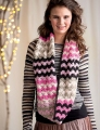 Cascade 220 Superwash Pretty in Pink Infinity Cowl Kit