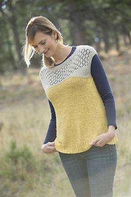 Classic Elite Firefly Summer Lace Pullover Kit - Women's Sleeveless