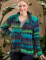 Trendsetter Frontier #5101B Double Cable Cardigan Kit