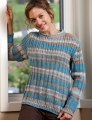 Trendsetter Yarns Artie #5100N Multi Ribbed Pullover Kit