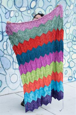 Tosh DK Toshstrology Knit and Crochet Blanket Kit - Home Accessories