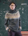 Universal Yarn Amphora Turtleneck Pullover Kit