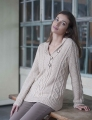 Classic Elite Chalet Shawl Collar Pullover Kit