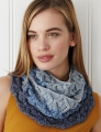 Debbie Bliss Cotton Denim DK Tonal Cowl Kit