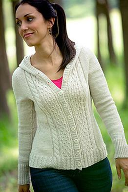 Anzula for Better or Worsted See You There Cardigan Kit - Women's Cardigans