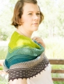 Lorna's Laces String Quintet Queen of Thorns Shawl Kit