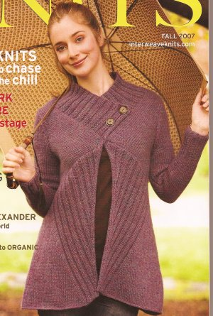 Berroco Peruvia Tilted Duster from Interweave Knits Kit - Women's Cardigans