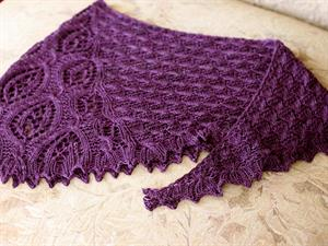 Baa Ram Ewe Titus Poe Shawl Kit - Scarf and Shawls