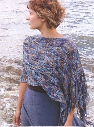 Lornas Laces Lion and Lamb Open Waters Shawl Kit - Scarf and Shawls