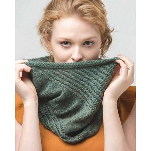 The Fibre Company Road to China Light Tilting Lines Cowl  Kit - Scarf and Shawls