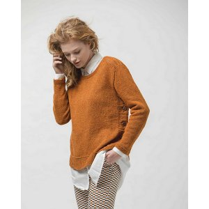 Berroco Remix Light Buttonside Sweater  Kit - Women's Pullovers