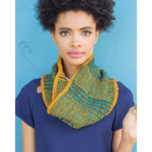 Madelinetosh Tosh Vintage Boardwalk Brioche Cowl Kit - Scarf and Shawls