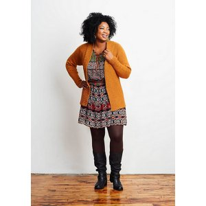 Shibui Knits Staccato and Maai Blaze Cardigan Kit - Women's Cardigans