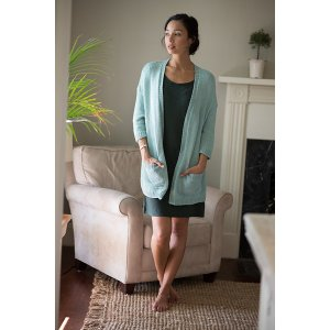 Berroco Modern Cotton Baltica Cardigan Kit - Women's Cardigans