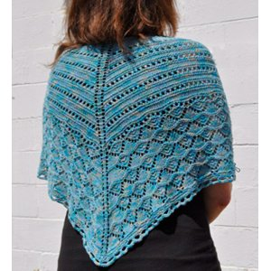 Crystal Palace Yarns Panda Silk Wailea Shawl Kit - Scarf and Shawls