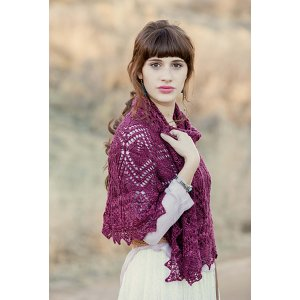 Anzula Squishy Trillium Shawl Kit - Scarf and Shawls