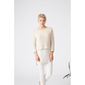 Shibui Knits Cima and Twig Getty Pullover Kit - Women's Pullovers