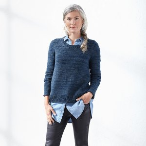 Blue Sky Fibers Woolstok Molly (Version A) Pullover Kit - Women's Pullovers