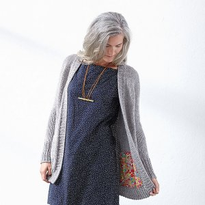 Berroco Peruvia Quick Emma (Version C) Cardigan Kit - Women's Cardigans