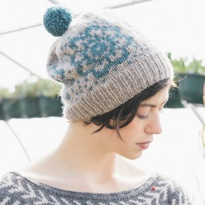 Rowan Pure Wool Worsted Superwash Wildflowers Cap Kit - Hats and Gloves