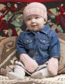 Blue Sky Fibers Baby Beanie and Mittens Kit