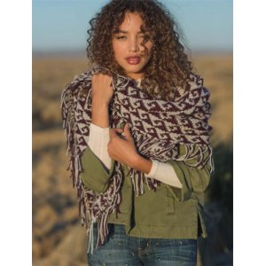 Berroco Vintage Crocheted West Wind Shawl Kit - Scarf and Shawls