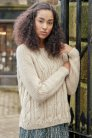 Rowan Hemp Tweed Buttrick Pullover Kit