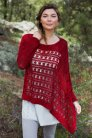 Kits Manos del Uruguay Alegria Solid Crocheted Hondius Way Pullover Kits